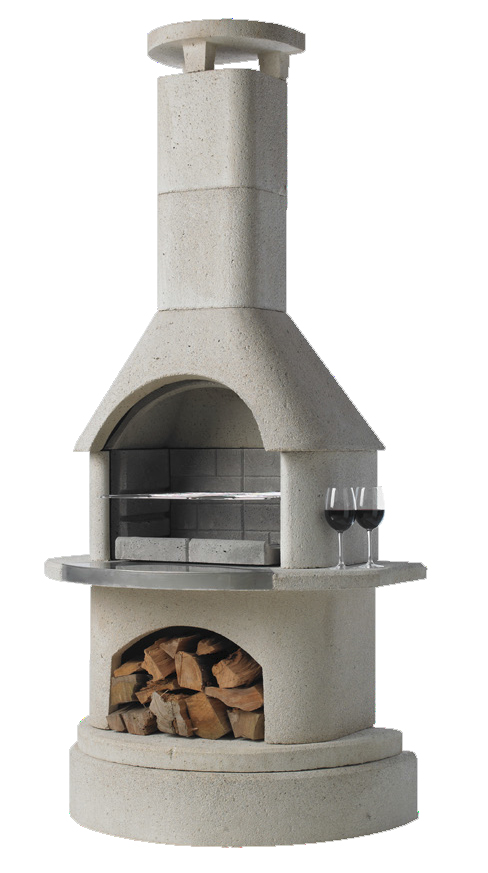 Elba BBQ Fireplace