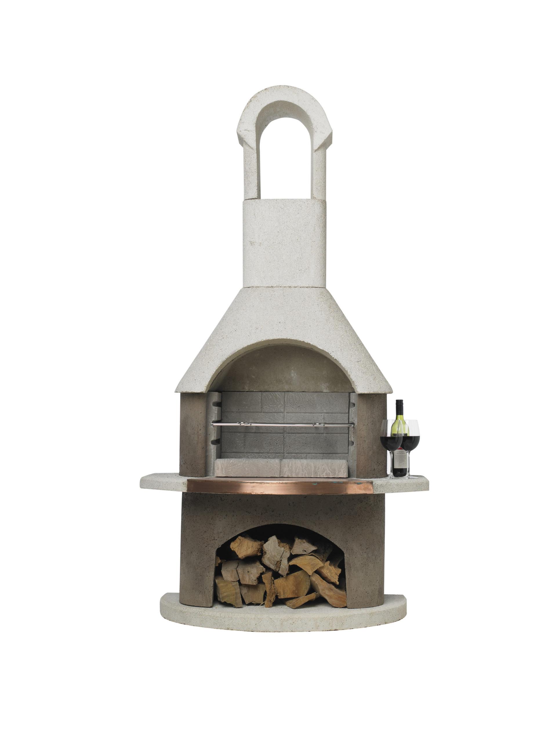 St Moritz BBQ Fireplace